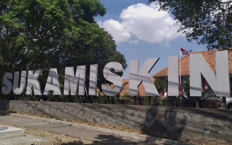 Lapas Sukamiskin di Bandung, Jawa Barat. - Antara/Bagus Ahmad Rizaldi