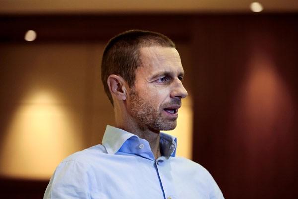 Presiden UEFA Aleksander Ceferin - Reuters/Alkis Konstantinidis