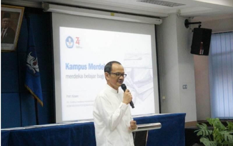 Pelaksana tugas Dirjen Dikti Kemendikbud Prof Nizam - ANTARA/Humas Dikti