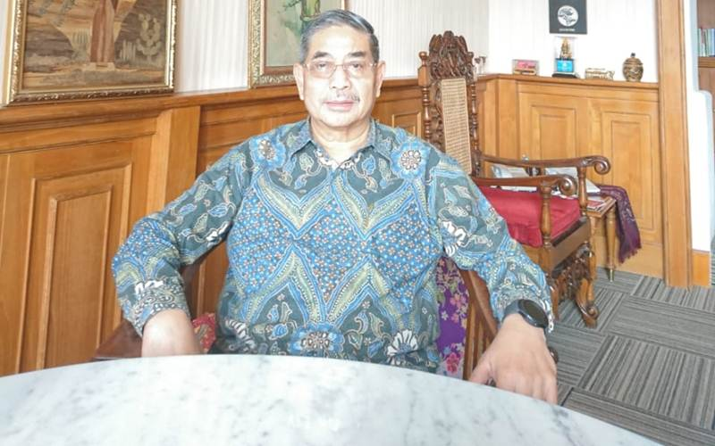Kepala Lembaga Biologi Molekuler Eijkman Amin Soebandrio memprediksi titik balik ataupun puncak pandemi Covid-19 di Indonesia terjadi pada Minggu ketiga Mei 2020. - Bisnis/Nyoman Ary Wahyudi