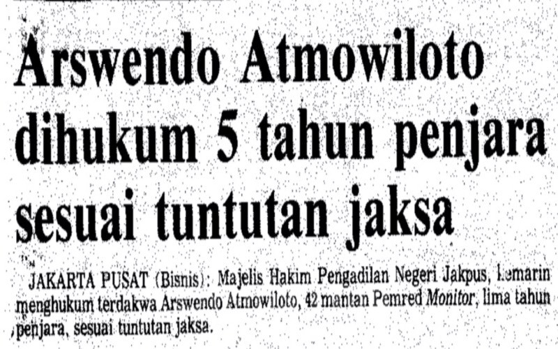 Arsip Arswendo Atmowiloto