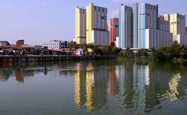 Ilustrasi properti di Jakarta. - Bisnis/Arief Hermawan