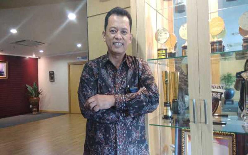 Direktur Utama PT Bank Pembangunan Daerah (BPD) DIY Santoso Rohmad - Harian Jogja/Holy Kartika N.S
