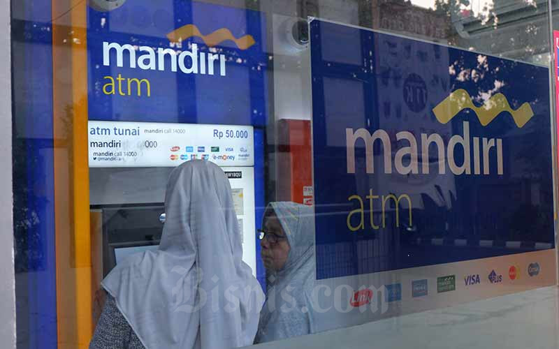 Covid 19 Bank Mandiri Salurkan Bansos Rp200 000 Per Bulan Finansial Bisnis Com
