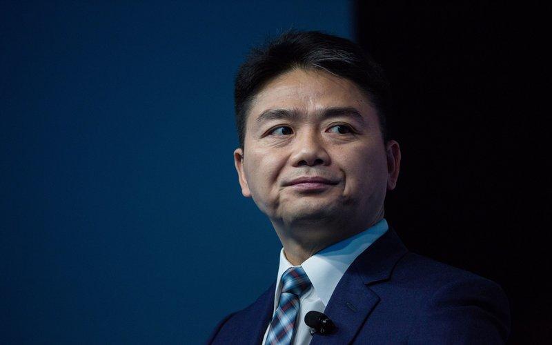 Richard Liu, pendiri perusahaan e-commerce asal China itu semakin kini semakin mengurangi perannya di dalam perusahaan -  Bloomberg