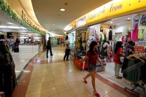Ilustrasi: Salah satu pusat perbelanjaan di Jakarta. - Bisnis