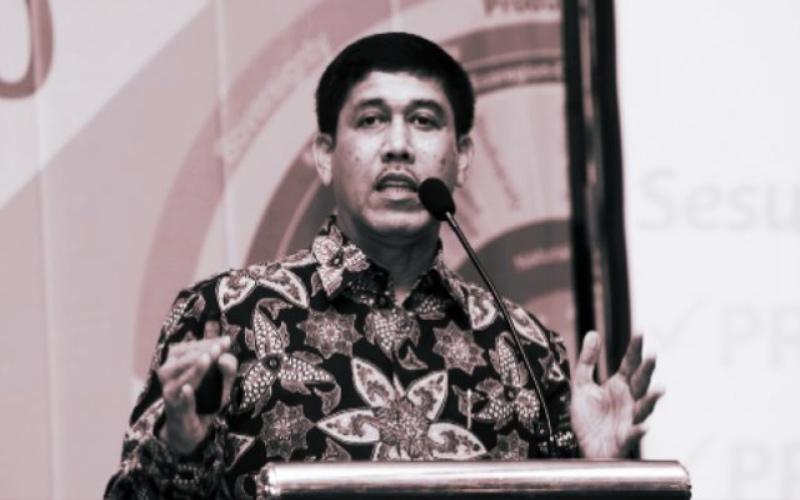 Muhammad Nadjikh tengah memberi pidato - Muhammadiyah