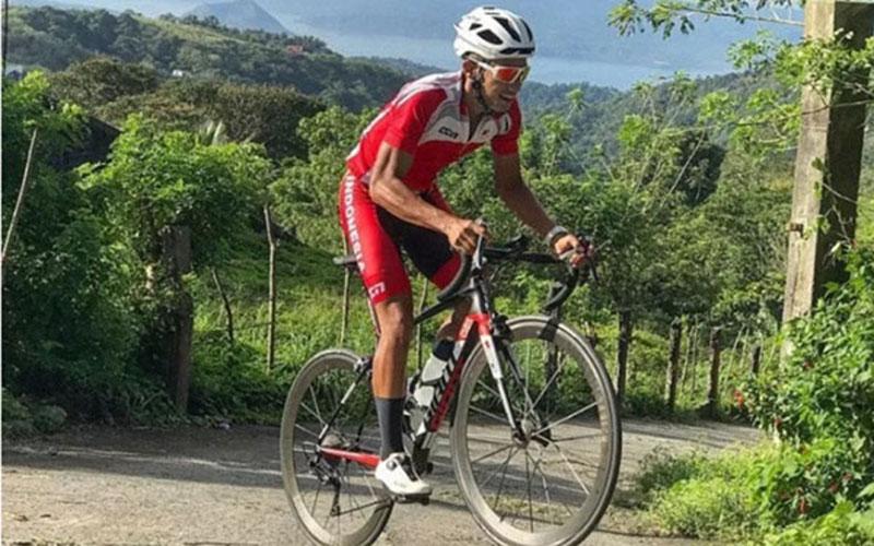Pebalap sepeda nasional Aiman Cahyadi - Instagram
