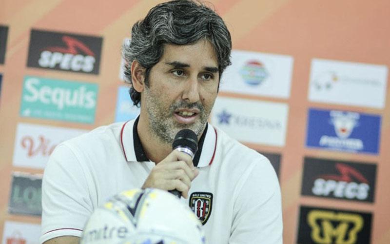 Pelatih Bali United Stefano Cugurra alias Teco. - BaliUtd.com