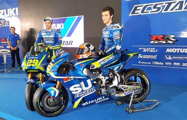 Andrea Iannone dan Alex Rins - Crash