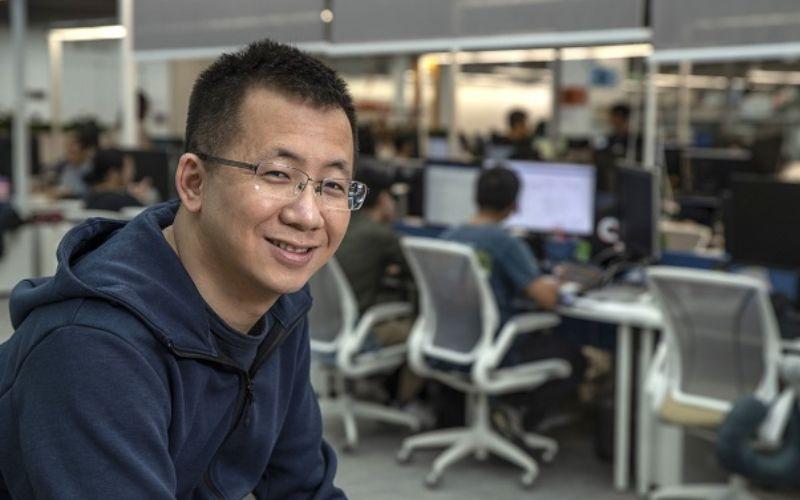 Zhang Yiming pendiri ByteDance. / Bloomberg.