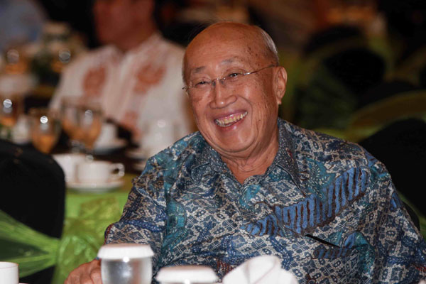 Ketua Tim Ahli Wakil Presiden Sofjan Wanandi. - Bisnis/Abdullah Azzam