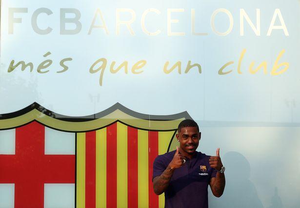 Pemain Barcelona, Malcom - Mirror