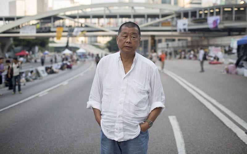 Taipan media Hong Kong Jimmy Lai/Bloomberg - Brent Lewin