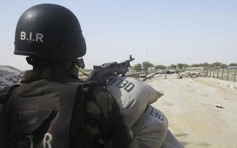Tentara Kamerun dalam file foto 17 Februari 2015./Reuters - Bate Felix Tabi Tabe