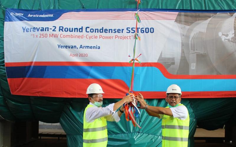 Ekspor mesin pembangkit PT Barata Indonesia ke Armenia