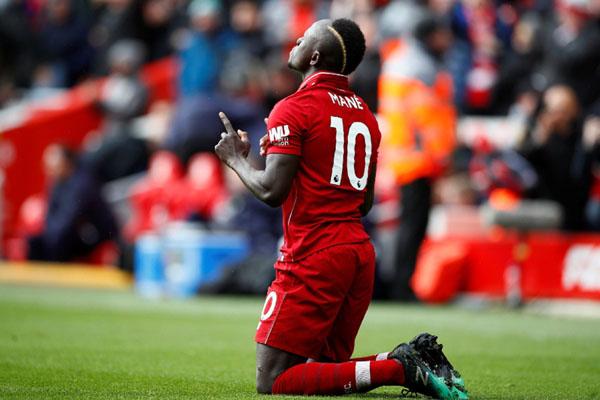 Ujung tombak Liverpool Sadio Mane - Reuters/Jason Cairnduff
