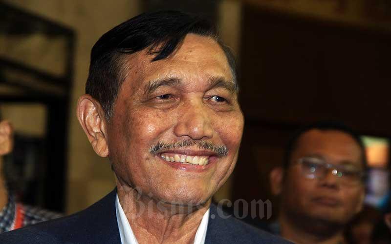 Menteri Koordinator Bidang Kemaritiman dan Investasi Luhut Binsar Pandjaitan. Bisnis - Triawanda Tirta Aditya