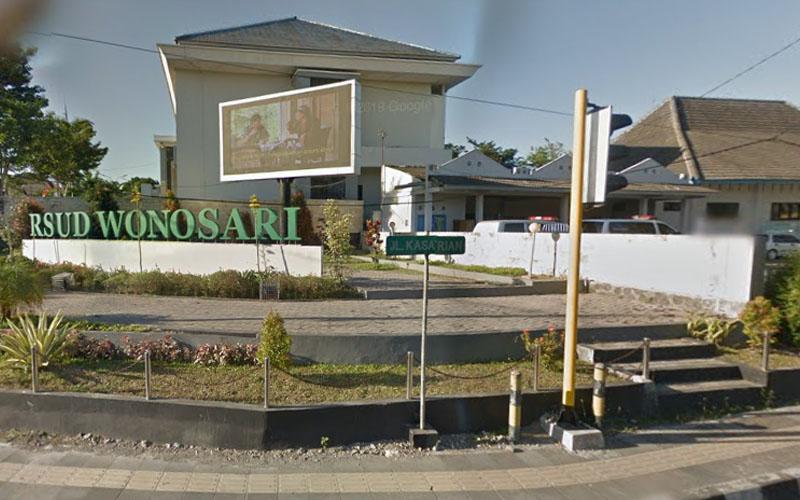 RSUD Wonosari. Foto: Google Maps Agustus 2019