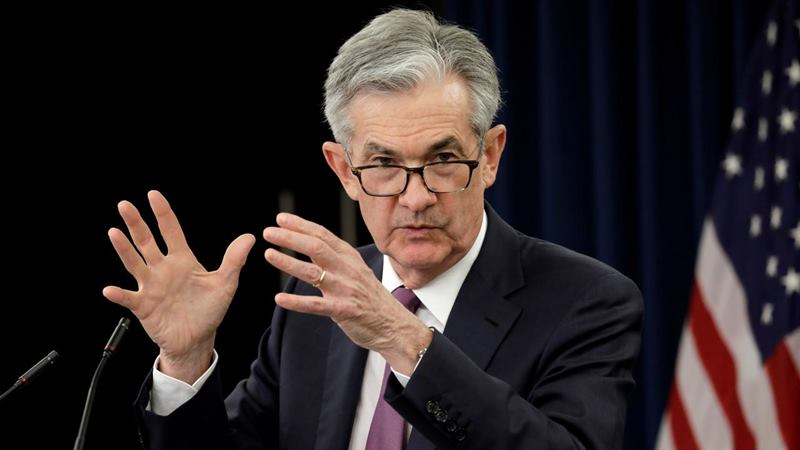 Federal Reserve Board Chairman Jerome Powell. - REUTERS / Yuri Gripas
