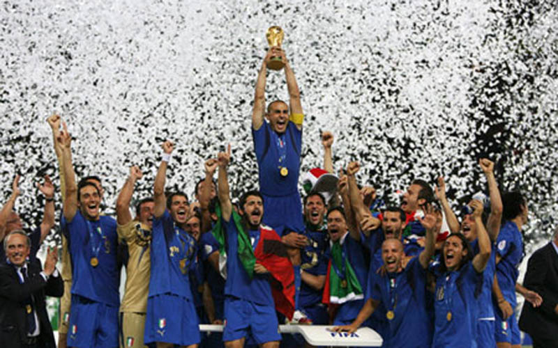 Italia juara Piala Dunia 2006. - Reuters