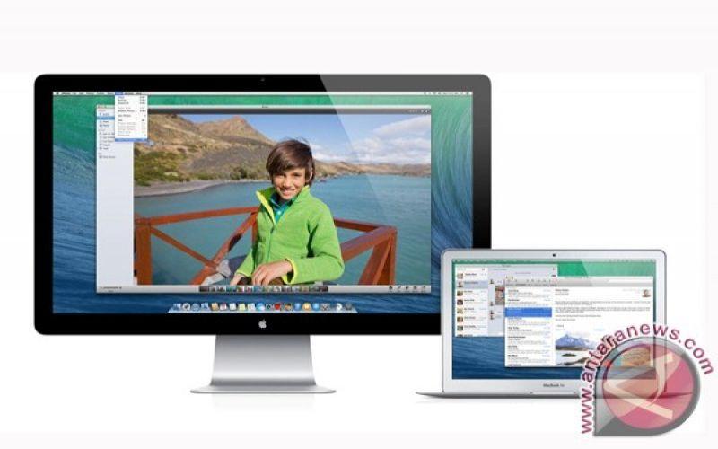 Tampilan OS X Mavericks di perangkat iMac dan Macbook.  - Antara/Apple.com