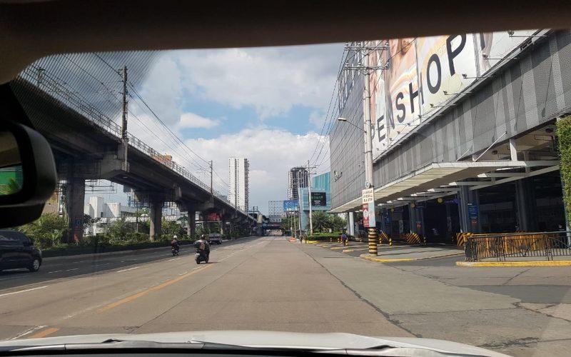 Suasana kota Manila sepi setelah Pemerintah Filipina menerapkan karantina wilayah atau lockdown menyusul penyebaran virus corona di negara bekas koloni Spanyol tersebut. - Istimewa