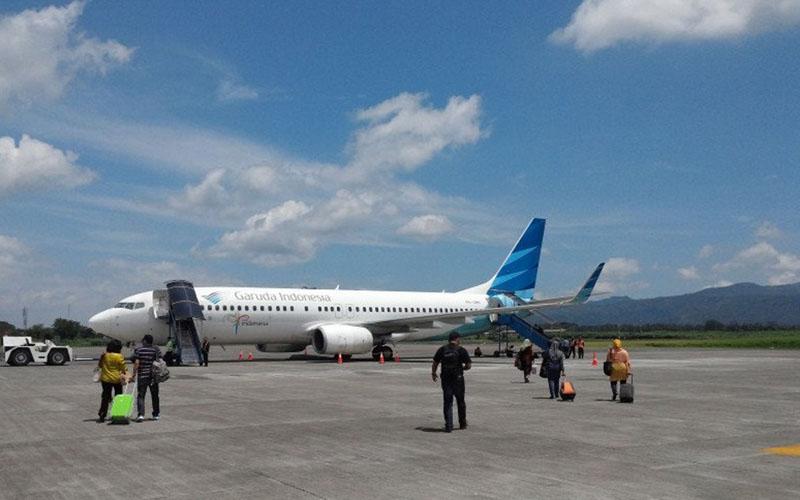 Bandara Abdul Rachman Saleh di Malang, Jawa Timur. - Antara/Vicki Febrianto
