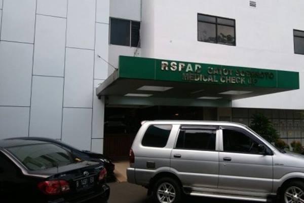 RSPAD Gatot Subroto mulai menggunakan serum pasien sembuh Covid-19 sebagai obat alternatif selain Avigan dalam perawatan pasien terkait Covid-19. - Antara