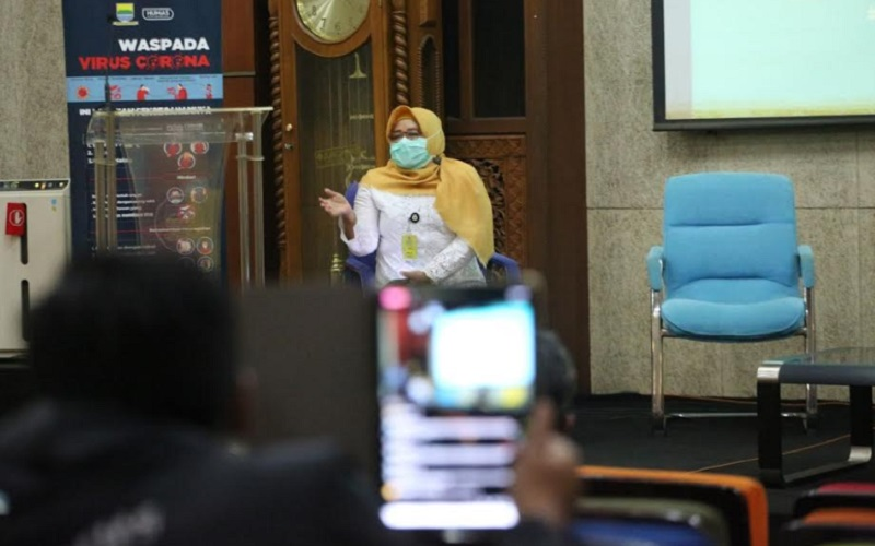 Kepala Dinas Kesehatan Kota Bandung Rita Verita