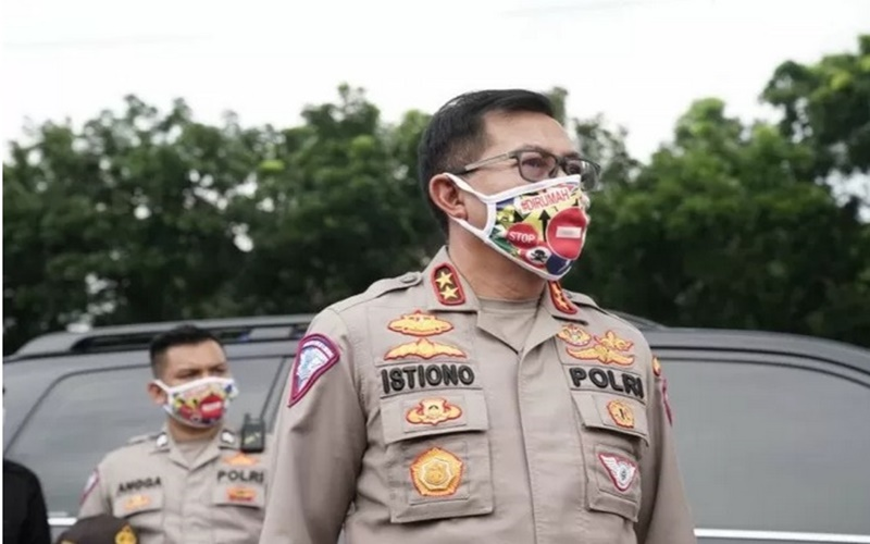 Kepala Korps Lalu Lintas Polri Irjen Istiono. - Antara