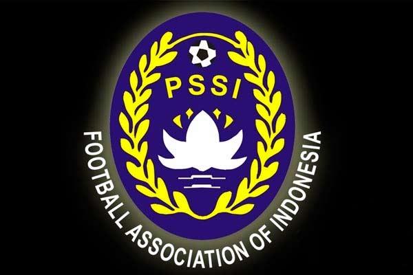 Logo PSSI. - Antara