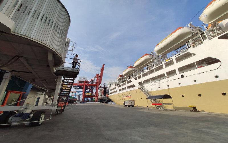 Terminal Penumpang Nusantara Tanjung Priok.