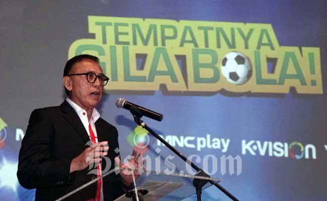 Ketua Umum PSSI Komjend Polisi Mochamad Iriawan . Bisnis - Himawan L Nugraha