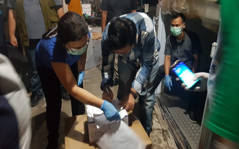 Jemput bola reagen di Bandara Soekarno Hatta