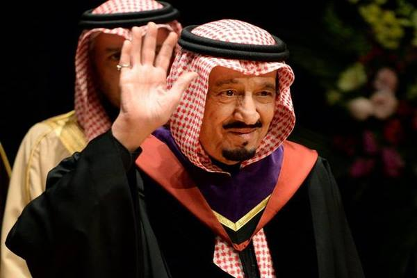 Raja Salman dari Arab Saudi - belfasttelegraph.co.uk