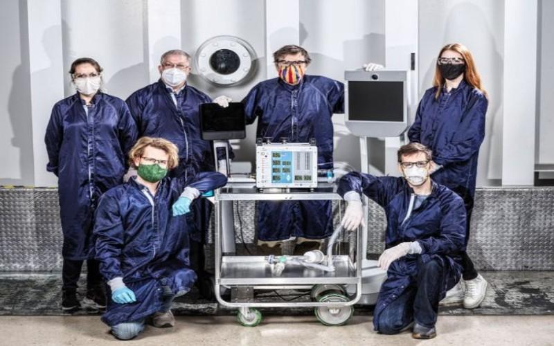 Para ilmuwan NASA akan membuat ventilator