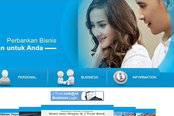 Ilustrasi situs Jtrust Bank - jtrustbank.co.id