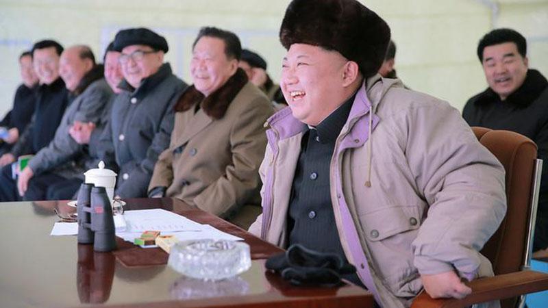 Pemimpin Korea Utara Kim Jong-un - Reuters/KCNA