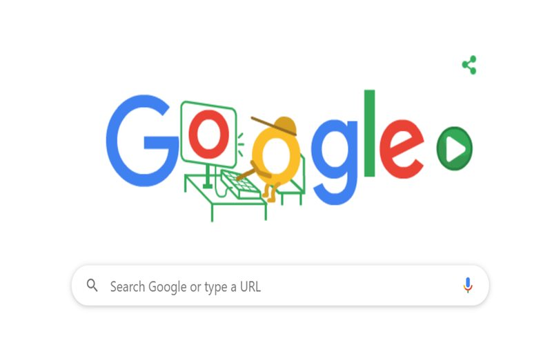 Ilustrasi Google Doodle - Google