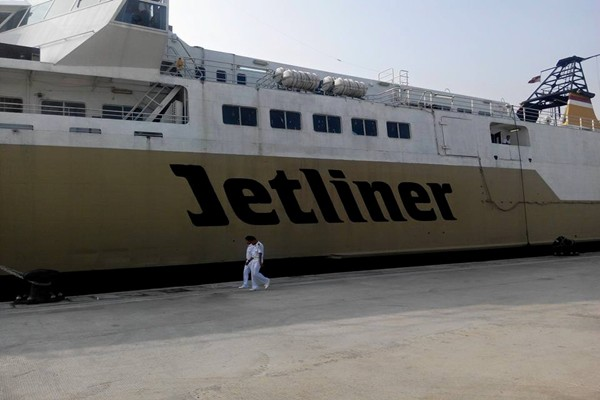 Kapal Feri Cepat Jetliner Pelni - hadijah alydrus