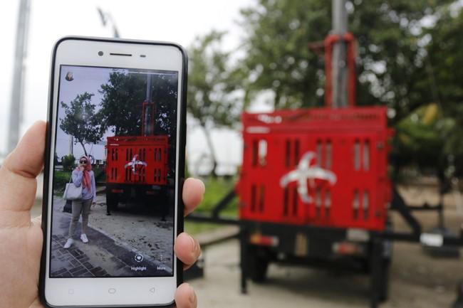 BTS bergerak atau mobile BTS Telkomsel - Telkomsel