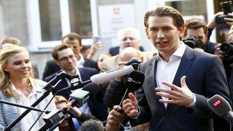 Kanselir Austria Sebastian Kurz - Reuters