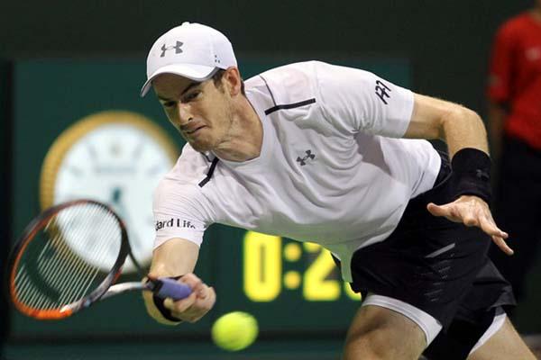 Andy Murray - Reuters/Naseem Zeitoon