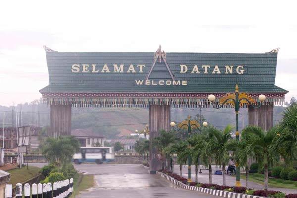 Gerbang Tarakan.  - Bisnis.com