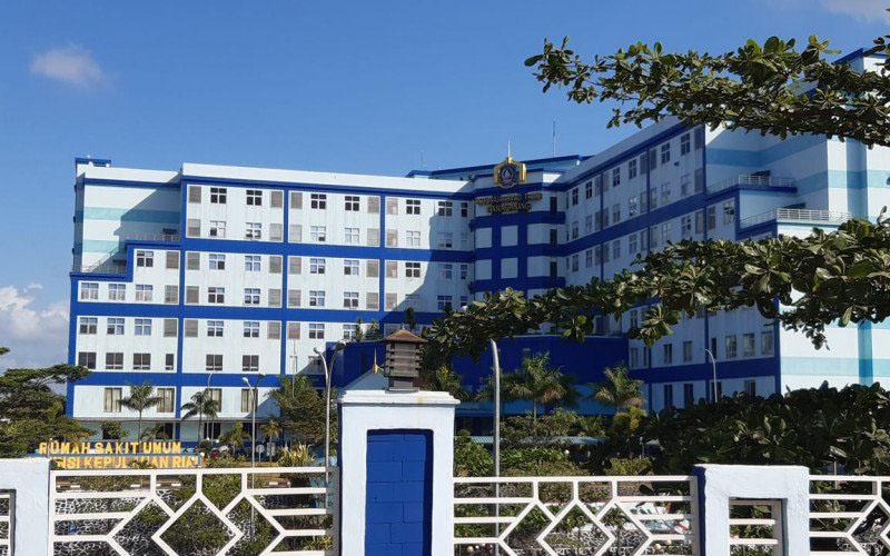 Rumah Sakit Ahmad Tabib Provinsi Kepulauan Riau di Kota Tanjungpinang, Kepulauan Riau. - Antara/Nikolas Panama