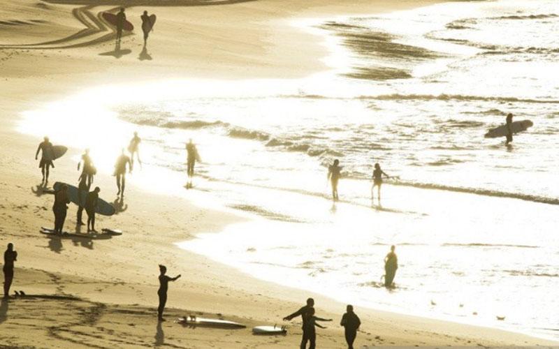 Pantai Bondi di Sydney, Australia./Antara - Reuters