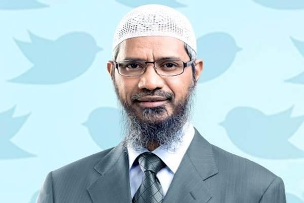Pendakwah muslim asal India Zakir Naik - Twitter