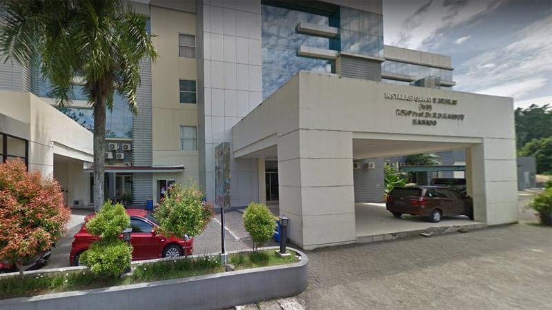 RSUP Prof. Dr. R.D.Kandou, Kota Manado. Foto: Google Maps