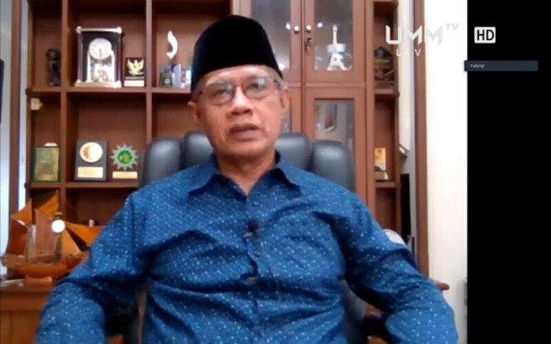 Ketua Umum Pimpinan Pusat Muhammadiyah Prof. Haedar Nashir. - Istimewa